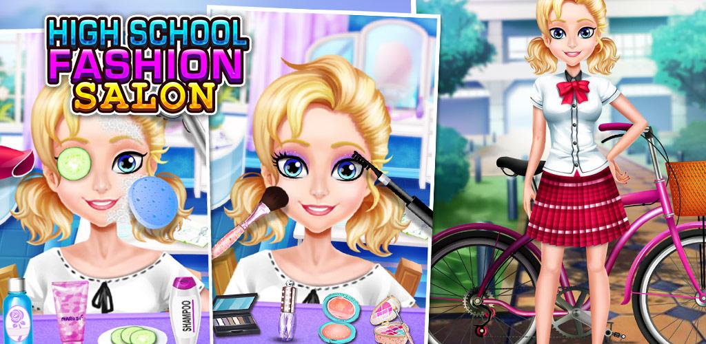 High school fashion salon girls game prom party for 6677g com fashion salon