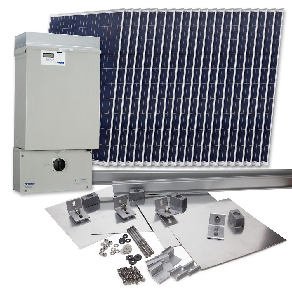 Grape Solar GS-4600-KIT Residential 4,600 Watt
