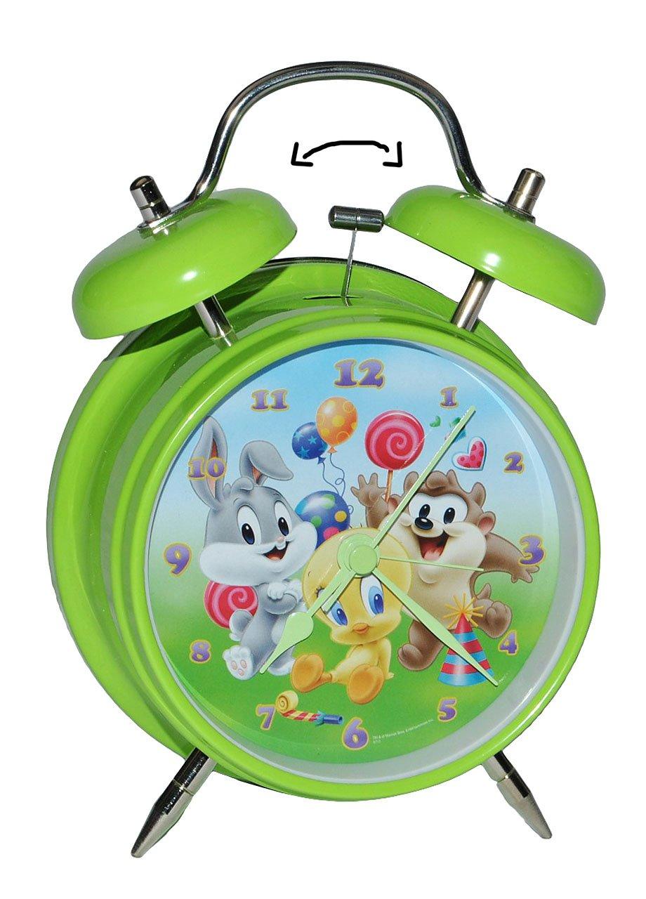 Kinderwecker Baby Looney Tunes – für Kinder Metall großer Wecker Analog – Alarm Metallwecker – Bugs Bunny Tweety Taz Domic jetzt kaufen