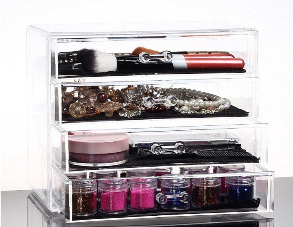 Organizer Makeup Box With