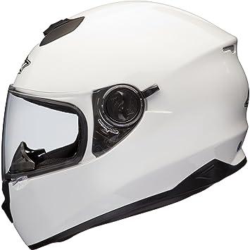 Shox Assault Casque Moto Intégral M Blanc