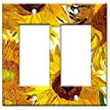 Sunflowers Decorative Switch Plate