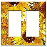 Sunflowers Decorative Switch Plate