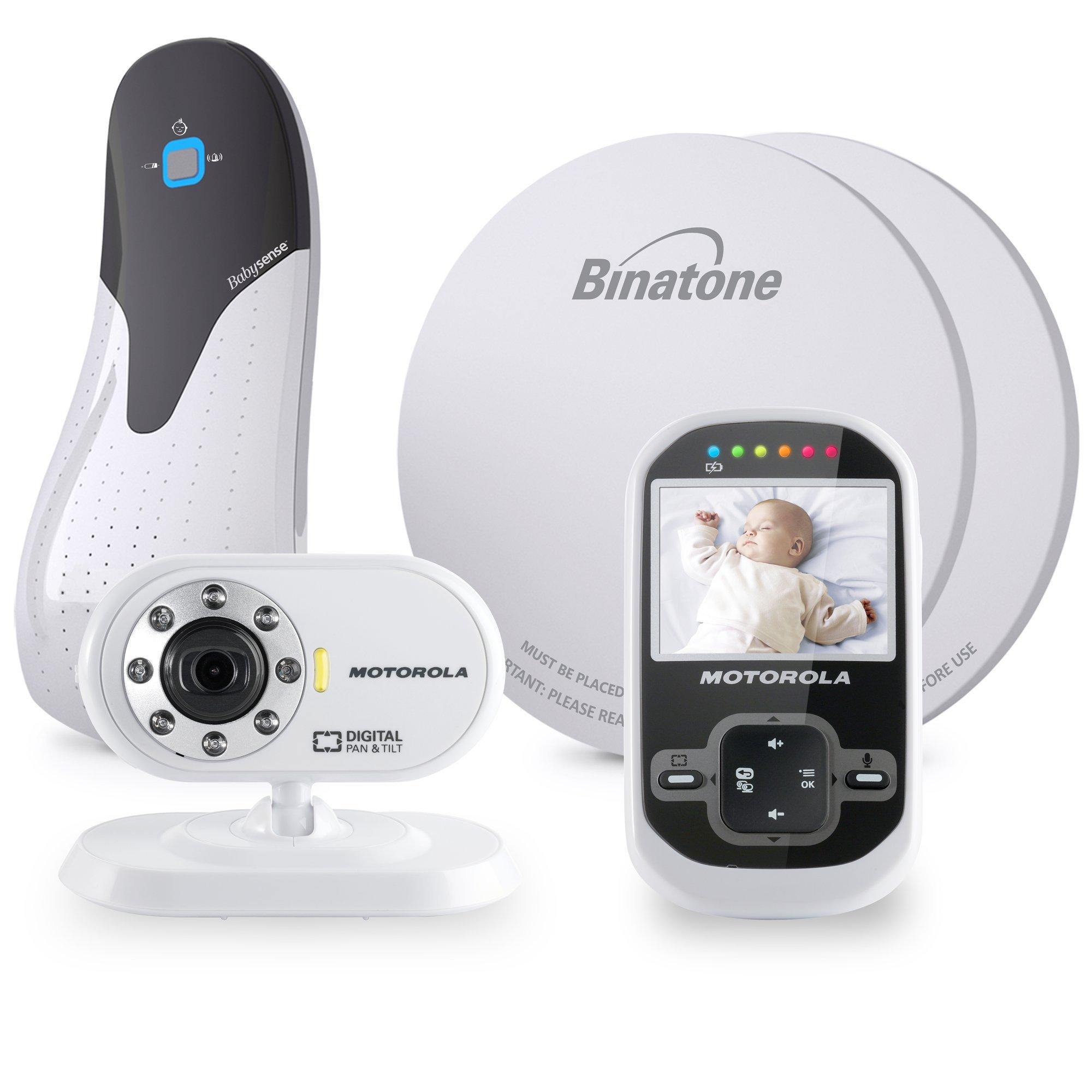 motorola mbp26 digital video monitor babysense bundle baby safety sound colour ebay. Black Bedroom Furniture Sets. Home Design Ideas