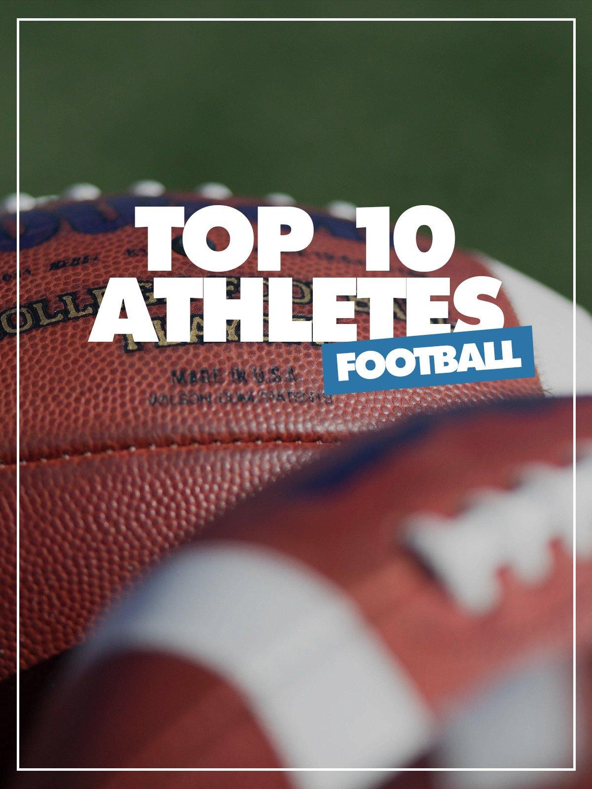 Top 10 Athletes Football on Amazon Prime Video UK