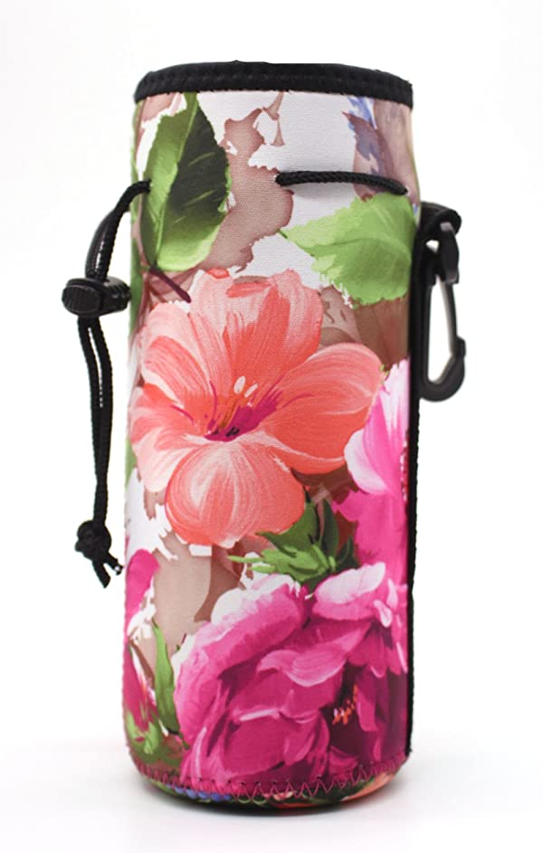 Water Bottle Sleeve Cover Neoprene Insulated Bag Case Pouch Carrier Protector