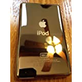 Metal Back Rear Housing Case Cover panel for iPod 7th Gen Classic 160GB Thin(GOOD) (Color: 1q)