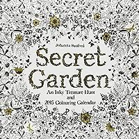 Secret Garden 2016 Wall Calendar