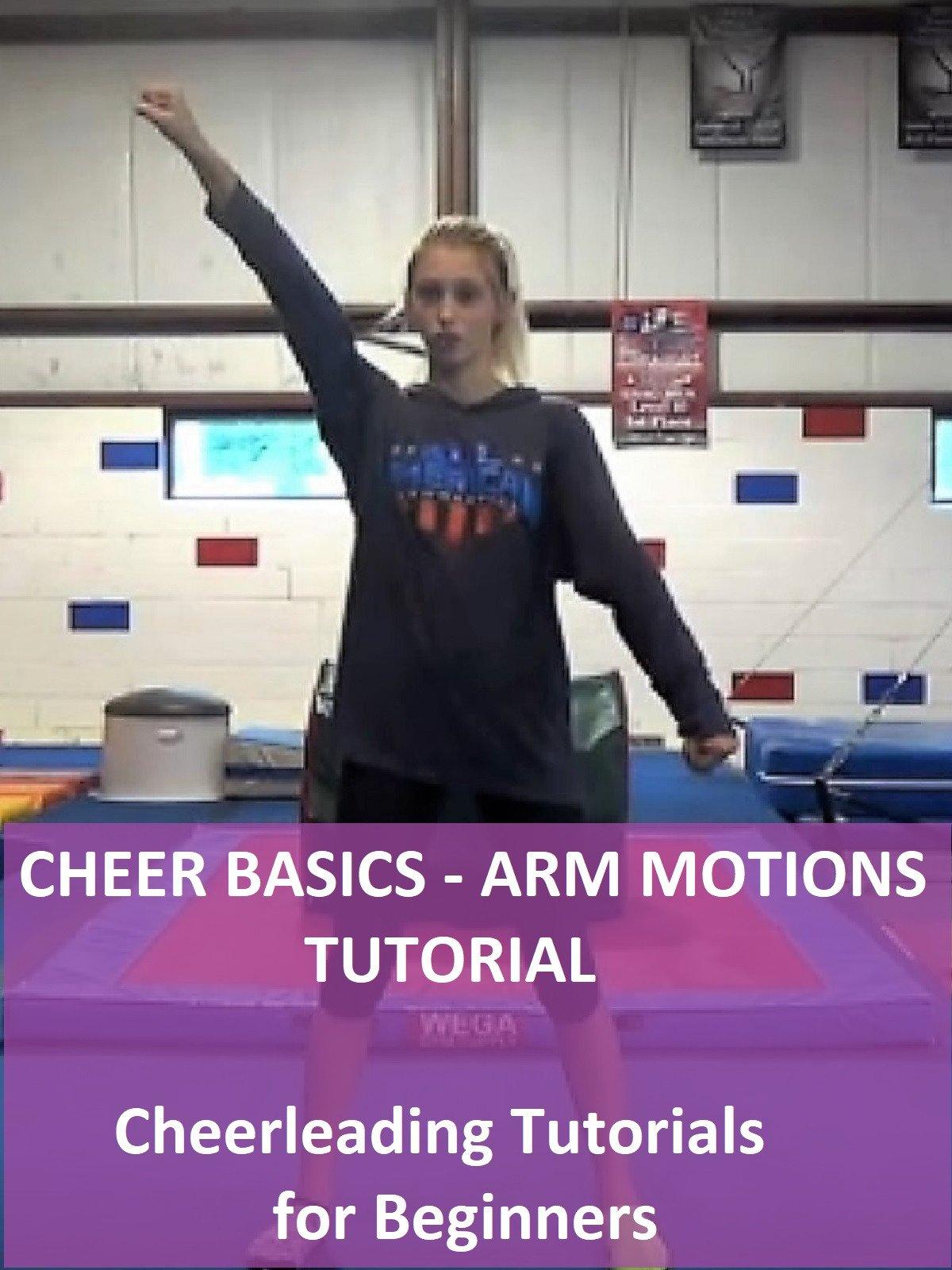 Cheer Basics: Arm Motions Tutorial
