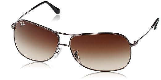 ray ban aviator brown  Ray-Ban Aviator Sunglasses (Brown Gradient) (RB3267