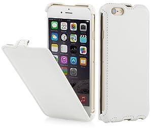 StilGut® Slim Case funda para iPhone 6 (4.7) con válvula, en blanco vintage - Electrónica - Comentarios de clientes y más información