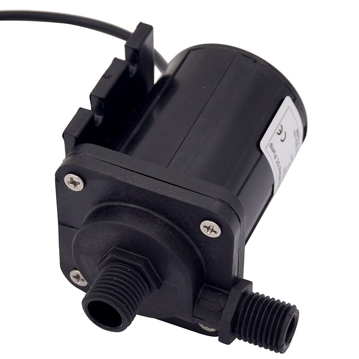 Aubig DC 12V Brushless Magnetic Drive Centrifugal Submersible Oil Water Pump 500L/H 5M/16ft