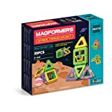 Magformers Space Traveler Set (35 Piece) Magnetic    Building      Blocks, Educational  Magnetic    Tiles Kit , Magnetic    Construction  STEM travel Toy Set (Color: Multi-colored)