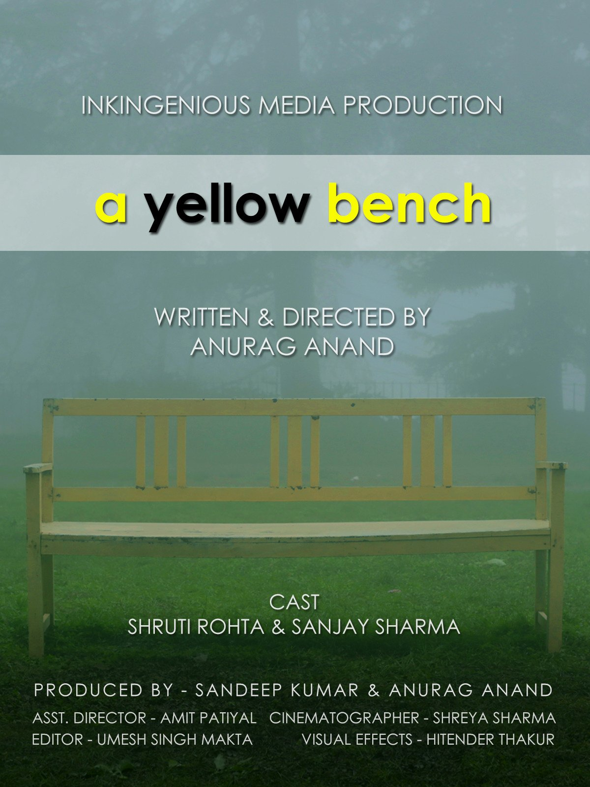 A Yellow Bench