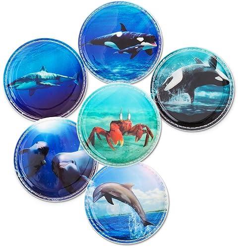 Ergobag Klettie-Set mit verschiedenen Motiven II Unterwasserwelt