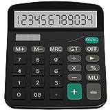 Calculator, Helect Standard Function Desktop Calculator - H1001 (Color: Black)