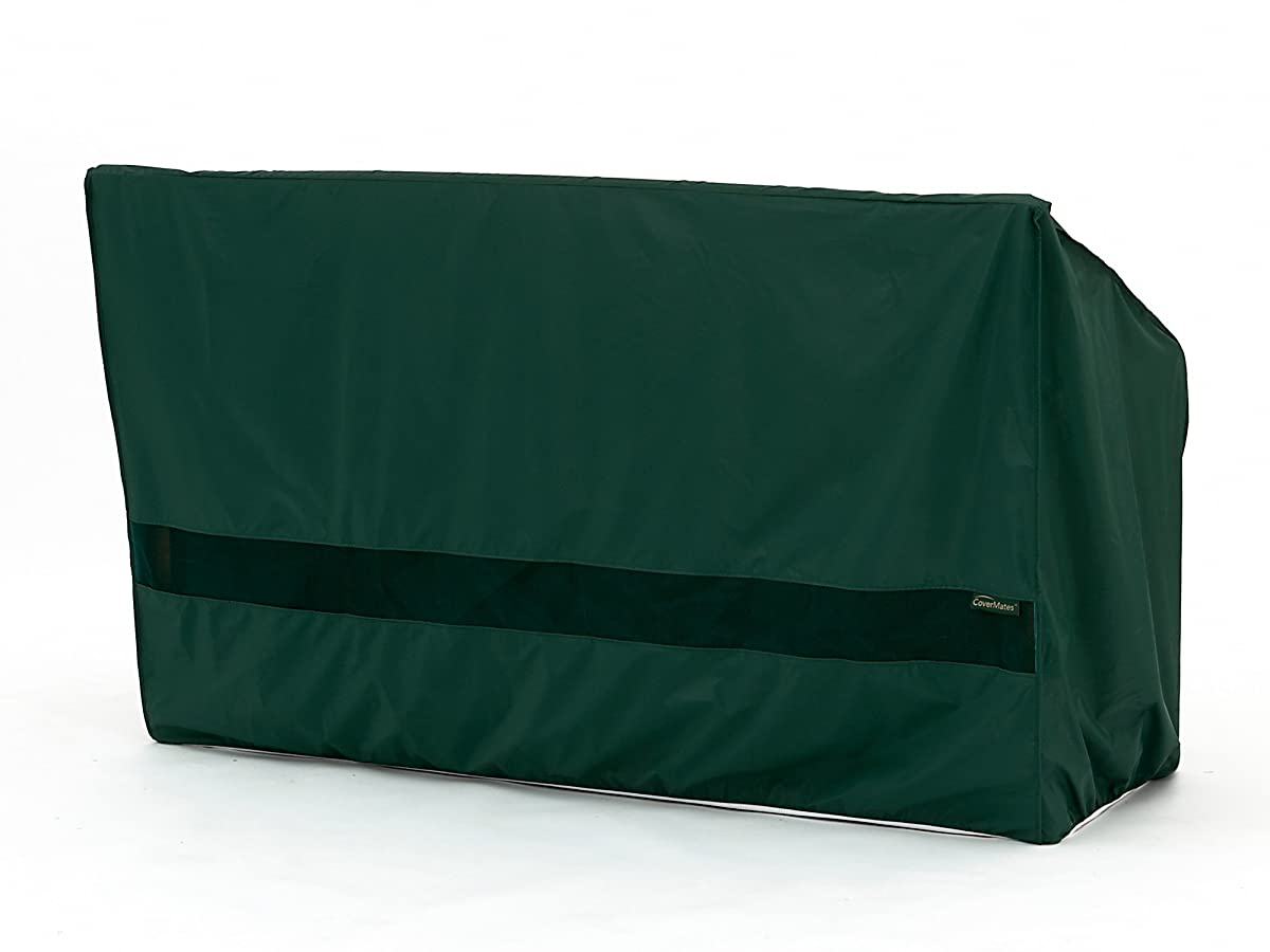 CoverMates – Outdoor Patio Glider Cover – 56W x 34D x 38H – Classic Collection – 2 YR Warranty – Year Around Protection - Green