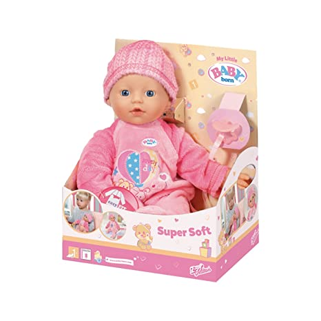 Baby Born - 30874 - My Little Baby Born Super Soft - Le poupon tout doux