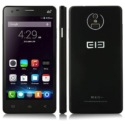 L&M Elephone P3000S Smartphone 4G LTE Débloqué 2GB / 16GB Android 4.4 Octa Core OTG NFC Play Store Finger ID (Noir)