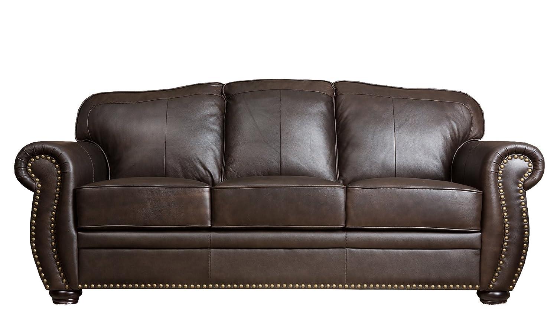 Abbyson Living Plaza Leather Sofa