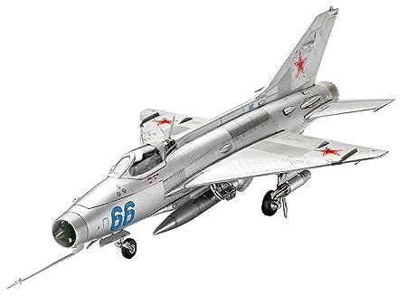 Revell Model Set - 63967 - Mig-21 F-13 Fishbed C - 83 Pièces - Echelle 1/72