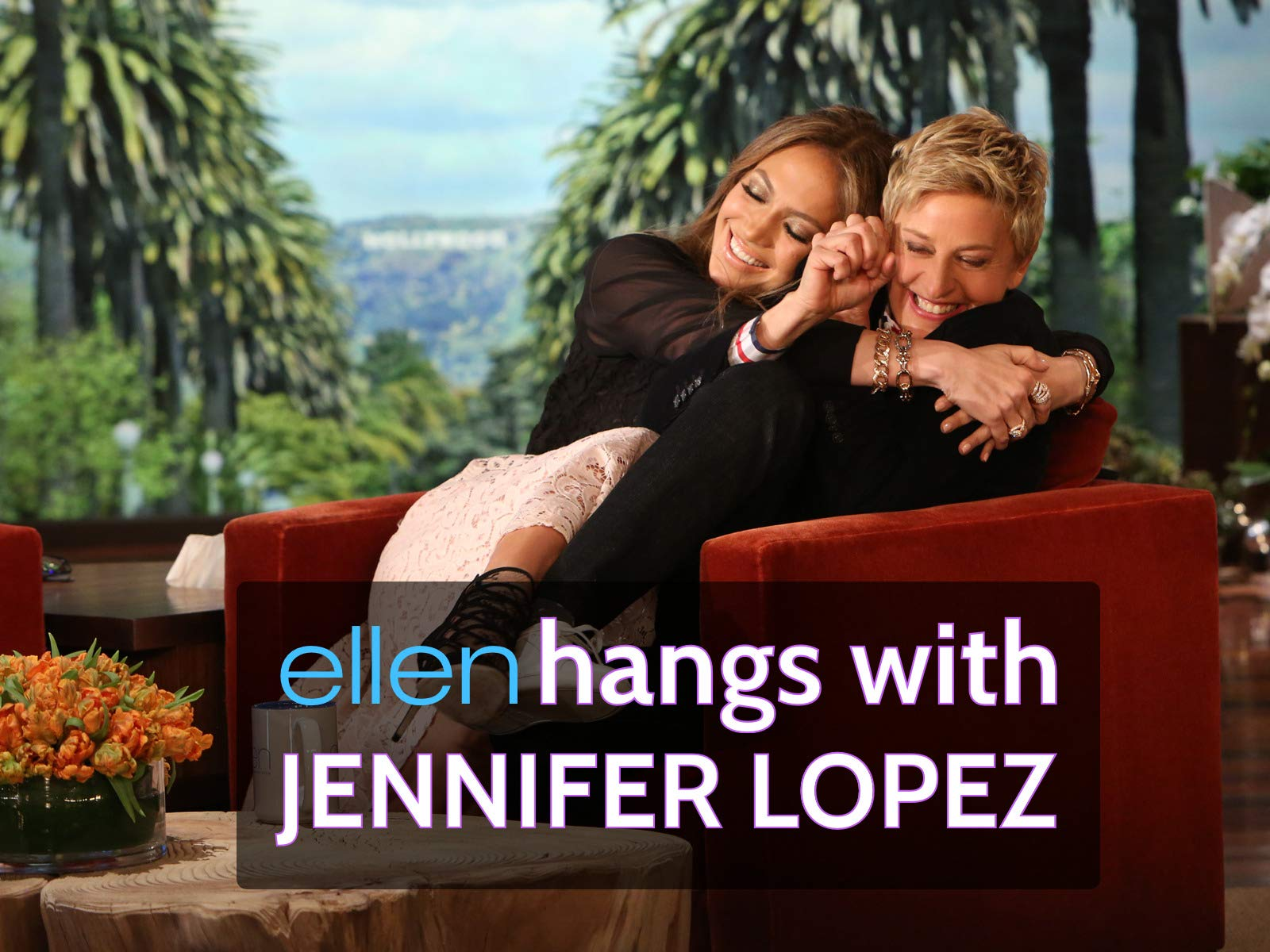 Ellen Hangs with Jennifer Lopez