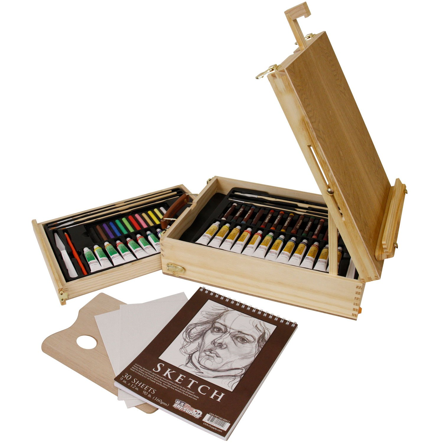 Us Art Supply  Piece Acrylic Paint Set