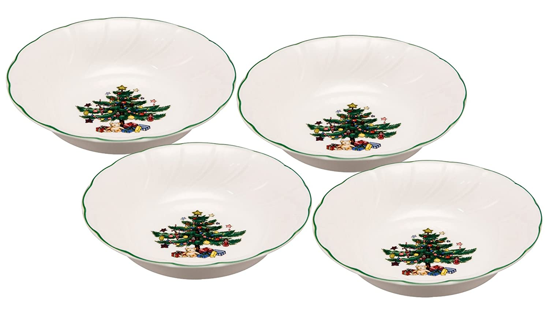 Nikko Happy Holidays Christmas Tree Dinnerware Collection