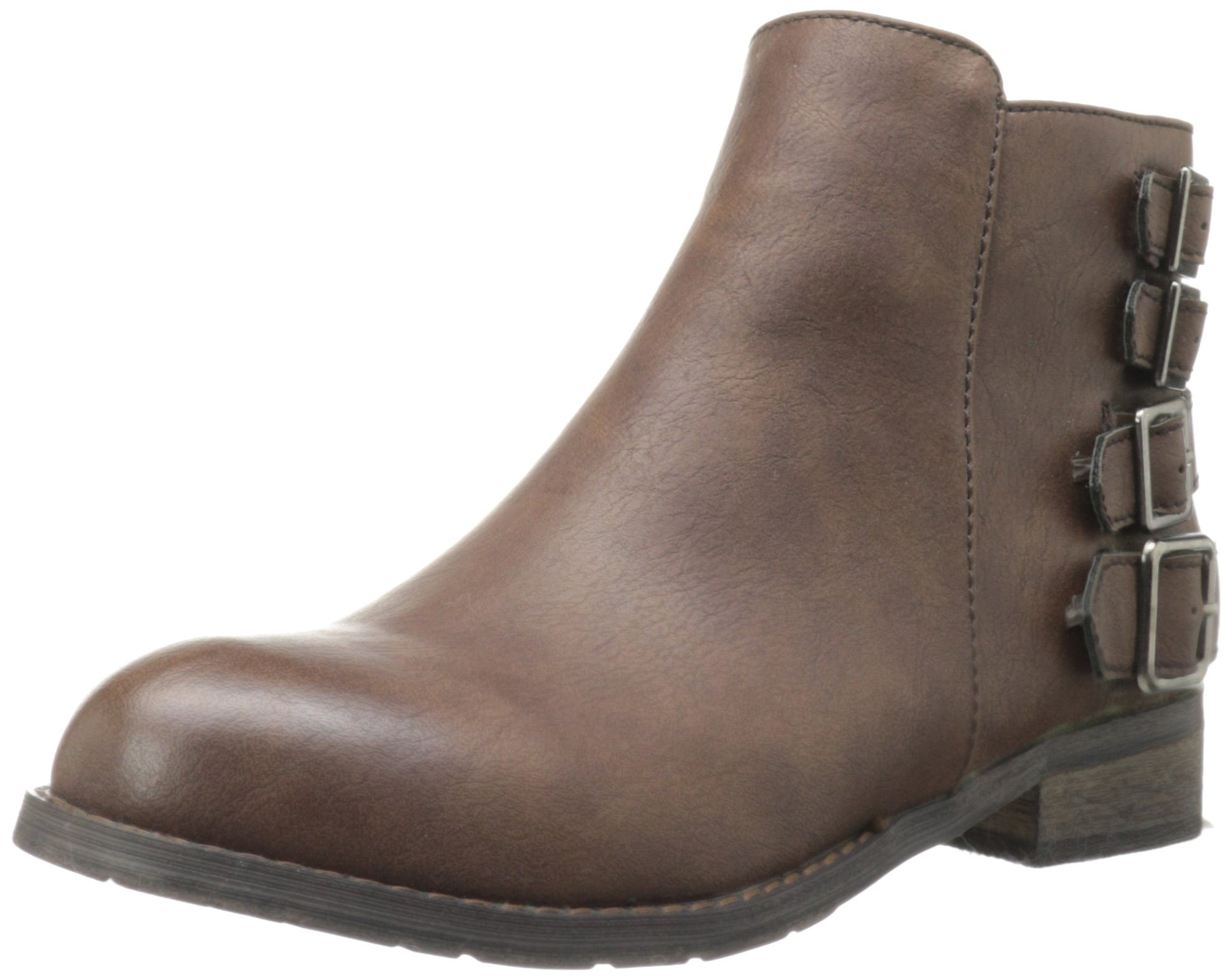 wanted shoes s mesa bootie brown size 9 ankle boots