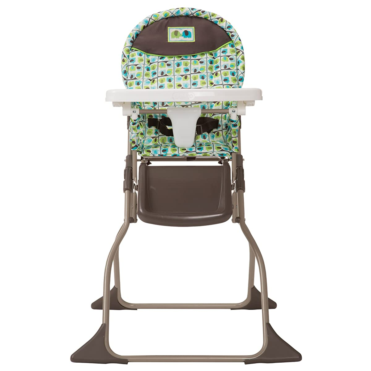 Cosco Simple Fold High Chair, Elephant Squares