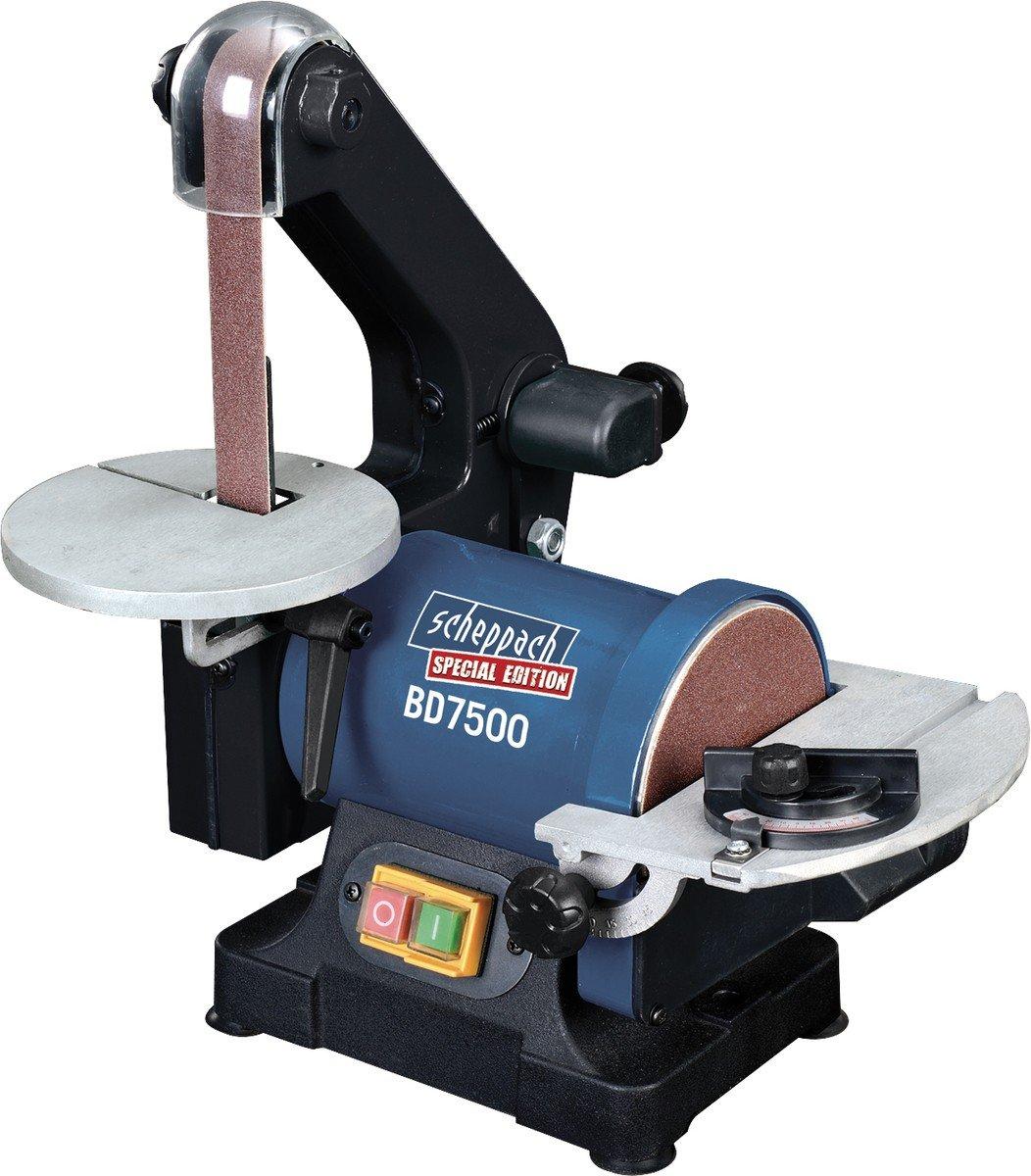Scheppach Bandund Tellerschleifmaschine BD7500 230 V, 250 W, 5903303901  BaumarktÜberprüfung und weitere Informationen
