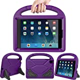 LEDNICEKER Kids Case for iPad Mini 1 2 3 4 5 - Light Weight Shock Proof Handle Friendly Convertible Stand Kids Case for iPad Mini, Mini 5, Mini 4,iPad Mini 3rd Generation, Mini 2 Tablet - Purple (Color: Purple, Tamaño: For iPad Mini 1 2 3 4 5 Tablet)