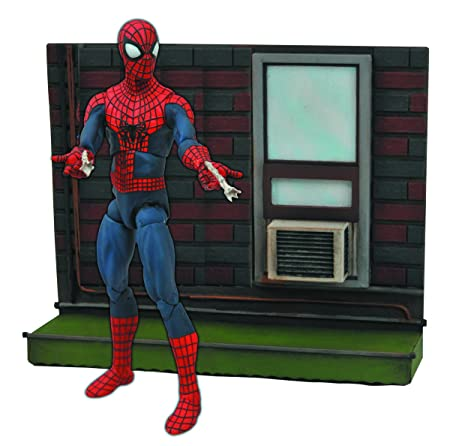 2 Action Marvel Select Amazing Spider-Man figure avec la base Marvel Select Amazing Spider-Man 2 Action Figure With Base