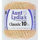 Coats Crochet Classic Crochet Thread, 10, Light Peach (Color: Light Peach, Tamaño: 10)