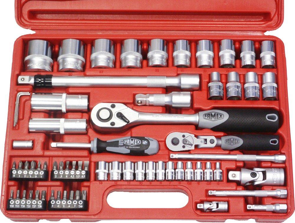 Famex 580SD21 Mechaniker Steckschlüsselsatz 66 tlg.  BaumarktÜberprüfung und weitere Informationen