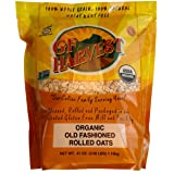 GF Harvest Gluten Free Organic Rolled Oats, 41-Ounce Pouch (Packaging May Vary)