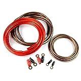 Audiopipe 1000 Watt 4 Gauge Heavy Duty AC Power Inverter Cable Installation Kit Universal