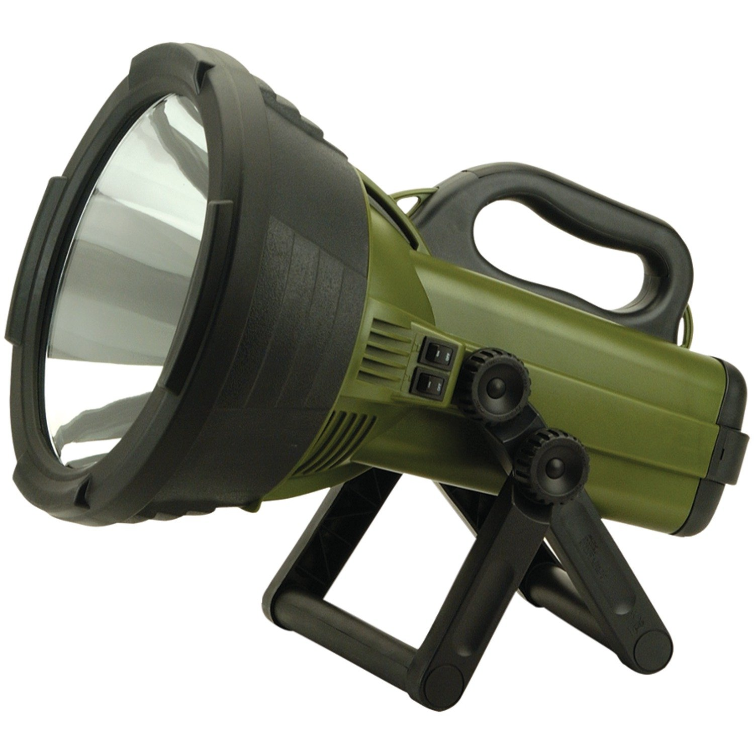 Led Spotlight Rechargeable: Cyclops18 Million Candle Power Rechargeable Spotlight