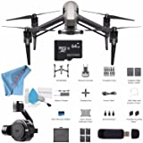 DJI Inspire 2 Quadcopter CP.BX.000166 + DJI Zenmuse X7 Camera and 3-Axis Gimbal CP.BX.00000028.01 + 64GB microSDXC + Card Reader + Fibercloth + Deluxe Cleaning Kit Bundle (Tamaño: W/Zenmuse X7)