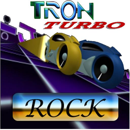Tron Lightcycle Rock Edition Racing Game