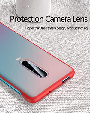 Draxlgon Compatible with Xiaomi Redmi K20 / Pro/Mi 9T / Pro Luxury Frameless Ultra-Thin Ring Design Scrub Hard PC Crystal Matte Back Case ins Style Phone Cover Yellow (Color: yellow)