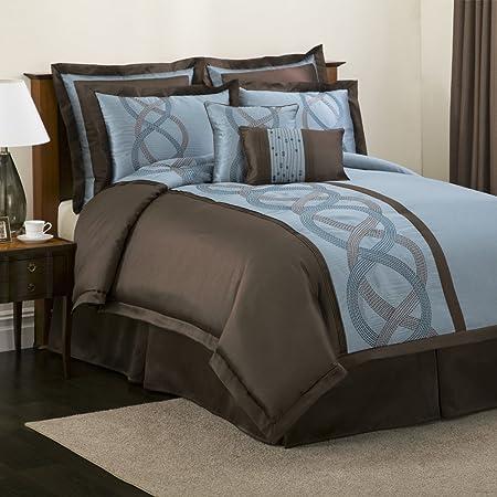 Blue Brown Comforter Set Specs Price Release Date