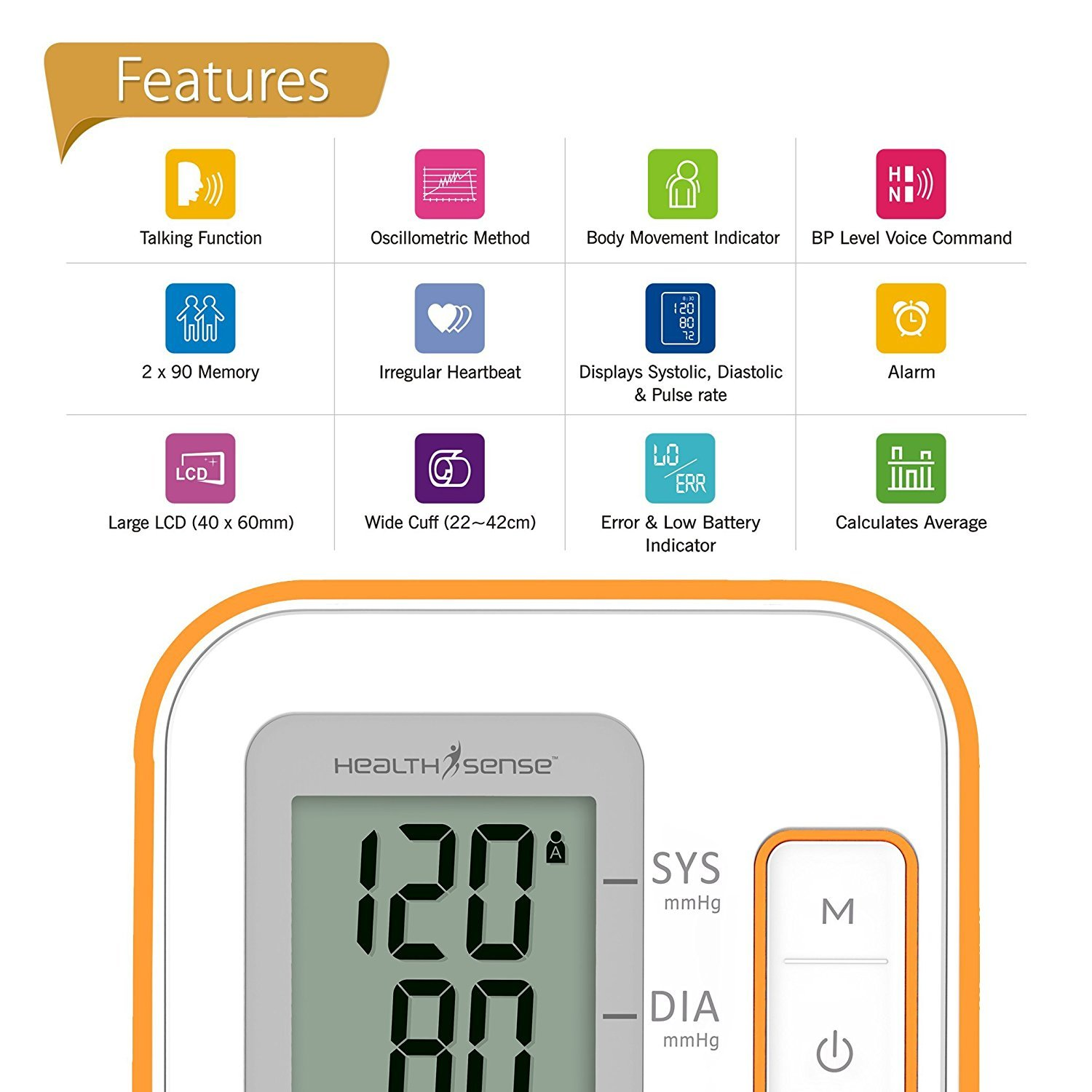Voice craft digital talking thermometer - Buy Healthsense Bp100 Heart Mate Classic Fully Automatic Digital Talking Blood Pressure Monitor White Orange Online At Best Price In India Amazon In