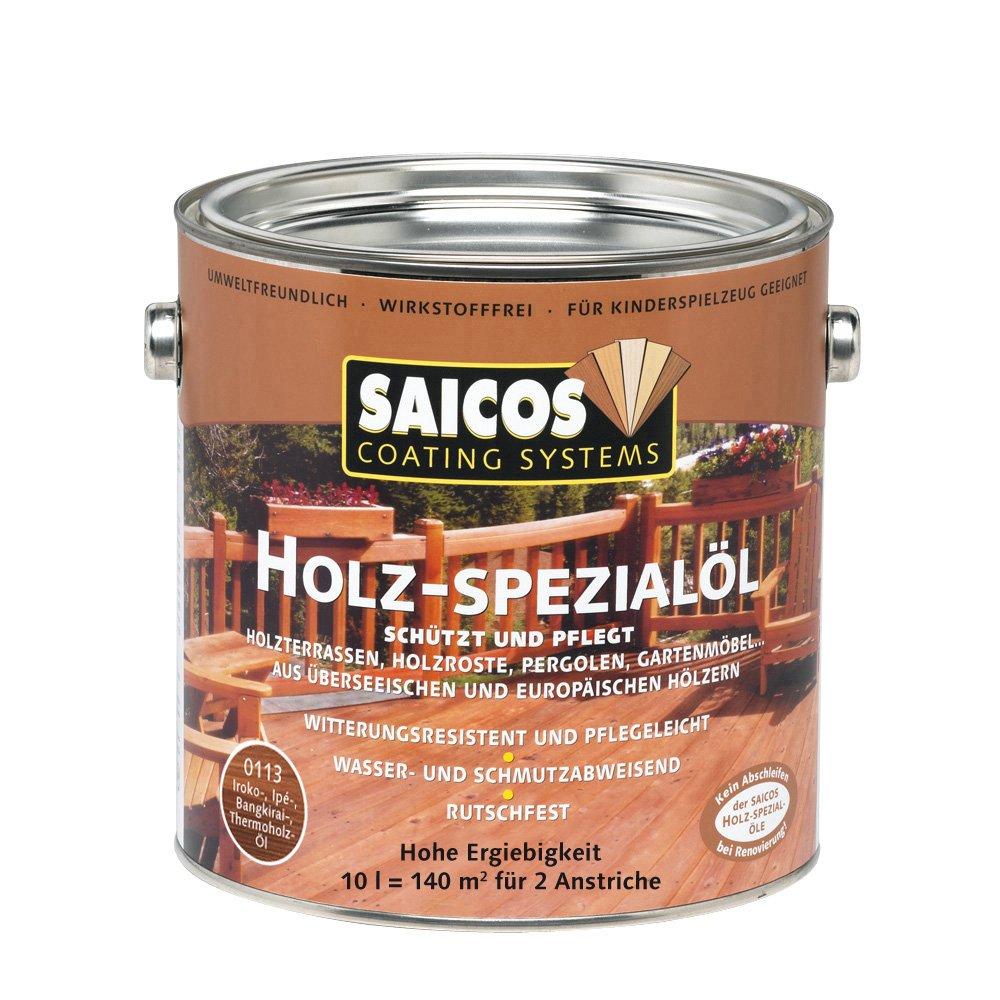 Saicos 0113 700 Holzspezialöl bangkirai 10 Liter  BaumarktÜberprüfung und weitere Informationen