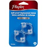 Playtex Sip Ease Replacement Valve-Clear-Circular-2 Count