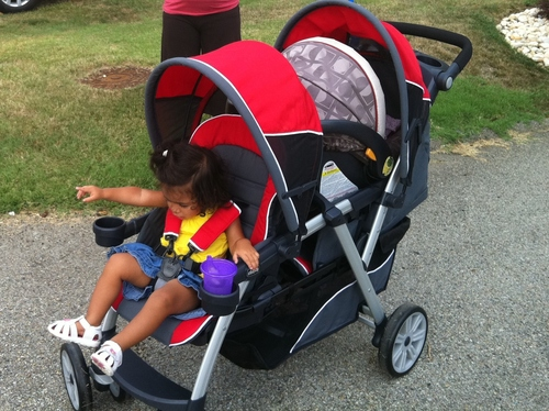 Great Features Of Chicco Cortina Together Double Stroller, Fuego