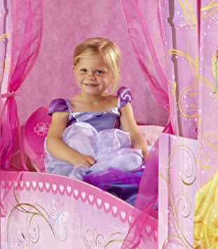 worlds apart 864219 classique lit lit pour enfant disney princesses princesses en forme de. Black Bedroom Furniture Sets. Home Design Ideas