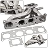 Ford Probe Mazda 626 Mx-6 Protege Performance T2 T25 T28 Turbo Exhaust Header Stainless Steel