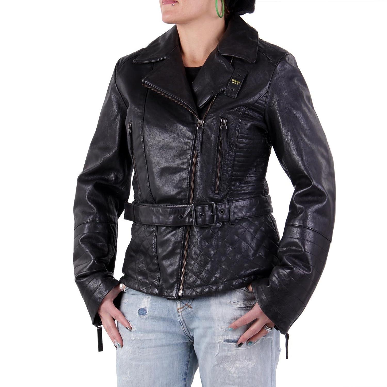 BLAUER USA Damen Winter Lederjacke Black 0693 jetzt bestellen