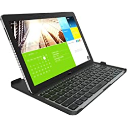 Zagg Cover-Fit Wireless Keyboard Case for Samsung Galaxy Note Pro 12.2 - Black